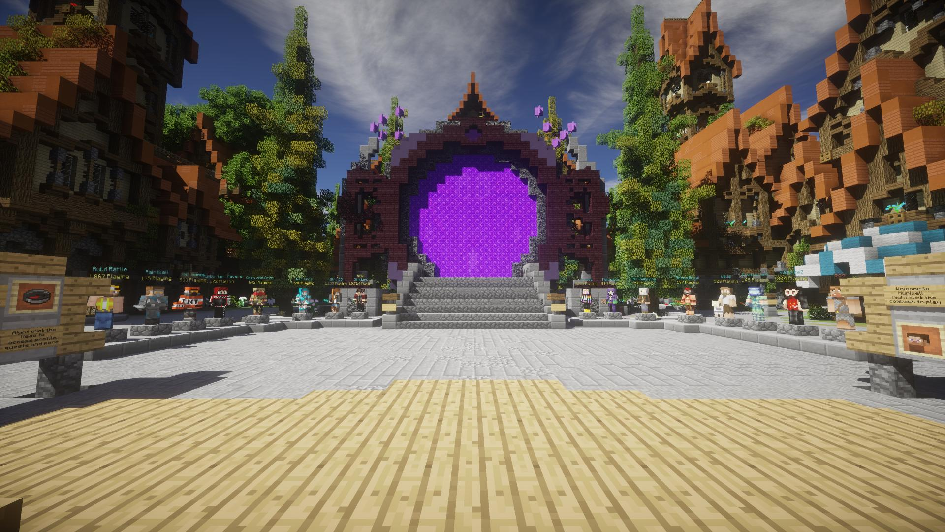 Hypixel Minecraft Server Network