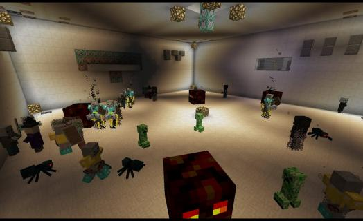 New Custom Mob Arena Added to JonGames.com Minecraft