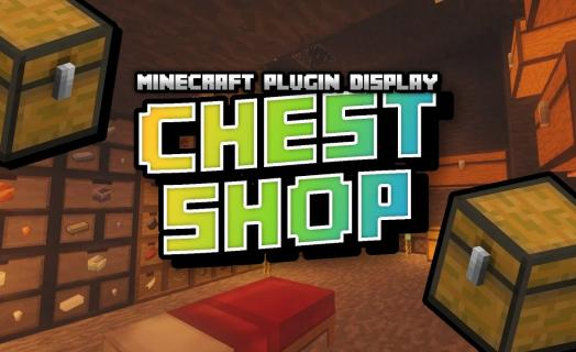Showcase of the Chest Shop plugin used on Barbercraft