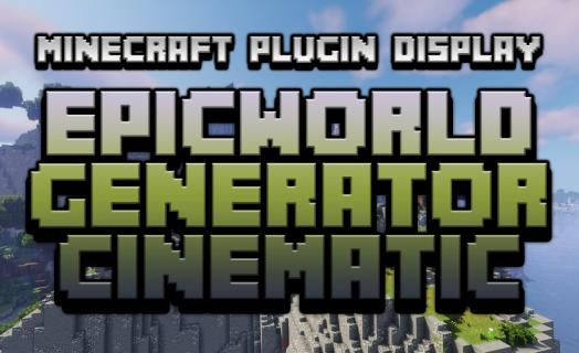 Showcase of the custom world generator used on Barbercraft