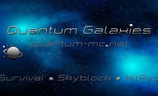 An overview of our spawns and a short introduction/trailer of what we offer at Quantum Galaxies