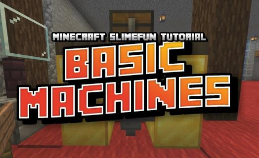 Tutorial for the Slimefun plugin on Barbercraft