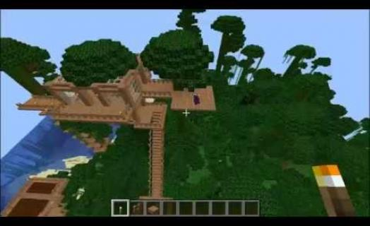 Serenity Creating Jungle Village Trading Outpost