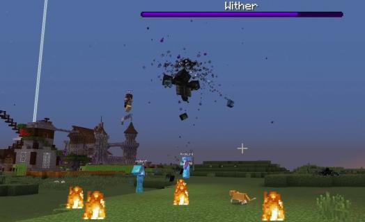 New Custom Wither Boss – JonGames Minecraft server