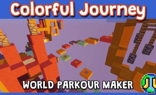 Sample user made custom parkour level from World Parkour Maker