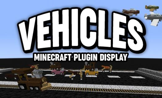 Showcase of the Vehicles plugin used on Barbercraft